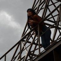 девушка на вышке :: Ruslan Kosyak