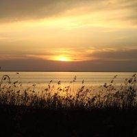 Закат на озере Нарочь, Беларусь :: Павел Смоленков