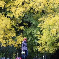 Ксю и осень :: Tatiana Florinzza