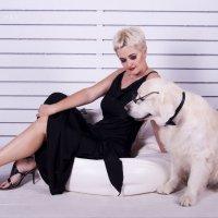 Дама с собакиным :: Алексей Романенко