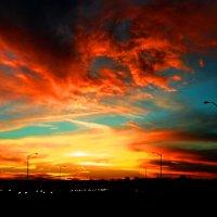 Не мог пропустить такое небо :: Яков Геллер