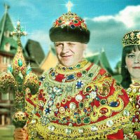 Вот, вы говорите: Царь,..Царь...А вы думаете, нам, Царям, легко??? :: Elena Klimova