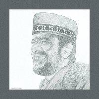 Сефард-в карандаше«Израиль, всё о религии...» :: Shmual Hava Retro