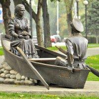 на лодке... :: Олег Сахнов