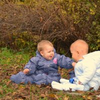 Дети в парке :: Анна Носова