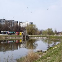 Городской пейзаж :: Владимир Кроливец