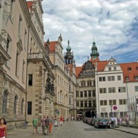 In the Street of Dresden :: Roman Ilnytskyi