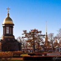 Сквер у Петровавловской крепости. :: Виталий Ахмедьянов