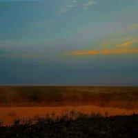 солнце спряталось в воду... :: Елена Баландина