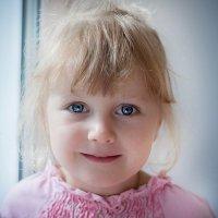 Голубоглазка  Кристиночка! :: Ольга Афанасьева