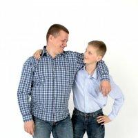 папа и сын :: Надежда Леманн
