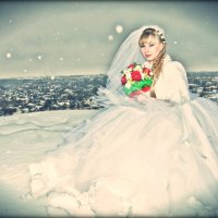На снегу невеста... :: Delete Delete