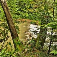 Горная река после дождя :: Игорь Мукалов