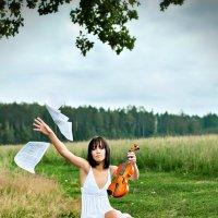 Скрипка :: Elena Ryo