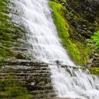 Водопад в ущелье Нинчурт :: Сергей Можаров