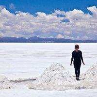Боливия 2012, Уюни, Соляное озеро. :: Олег Трифонов