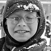 Мокрые снежинки :: Николай Смоляк