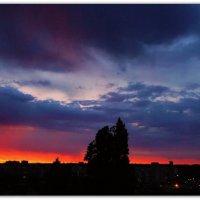 Рассвет из моего окна :: Александр Гапоненко