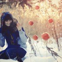 Яблоки на снегу :: Дмитрий Инголычев