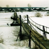 мост через Чусовую, с. Слобода :: Стил Франс