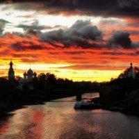 Кровавый закат :: Сергей Красавин