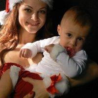 фотосъемка малышей с мамами :: Екатерина Худзинская