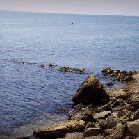 рыбацкий причал на черном море 2 :: Инесса Морозова