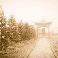 Дацан в тумане :: Петр Ступень