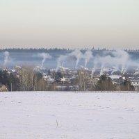 Морозное утро(под прессом Зимы). :: Валерий Молоток