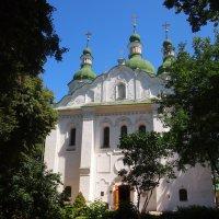Кирилловская церковь в Киеве :: Николаева Наталья