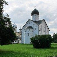 Церковь Спаса Преображения на Ильине. (1374г.) :: Николай Кондаков