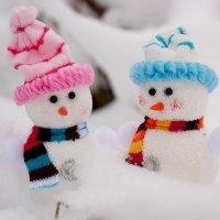 снеговики :: Юлия Филиппова
