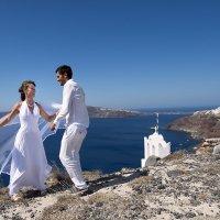 Свадьба на Санторини :: Ксения Исакова