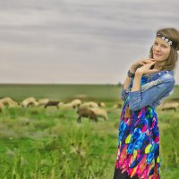 Пастушка :: Наталья Кирсанова