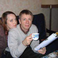 Из семейного альбома. 2006 год. Дочь и зять :: Владимир Шибинский
