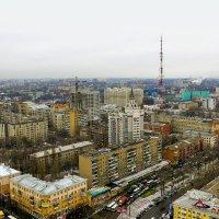 Городской пейзаж с высоты :: Юрий Стародубцев