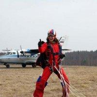 Курс AFF, после первого прыжка :: Анна Уварова