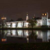 Ночной пейзаж :: Александр Лебедев