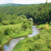 река Серьга :: Геннадий Ячменев