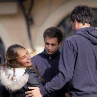 Израильская молодежь или любовные истории Яффо! :: Shmual Hava Retro