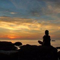 Медитация на закат :: Елена Левковская