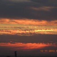 Золото заката :: Сибирь Ворумо