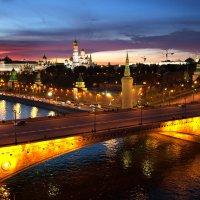 Вечер над Москвой :: Михаил Ястребов
