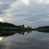 Река Угра. Закат :: Анастасия Иванова