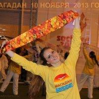 праздник встречи олимпийского огня :: Александр Корнелюк