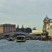 Венеция. Мост дельи Скальци на Большом канале :: Аркадий Беляков