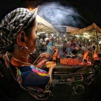 Night street grill... :: Roman Mordashev