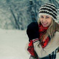 Идея для зимней фотосесси :: Сергей Горбенко