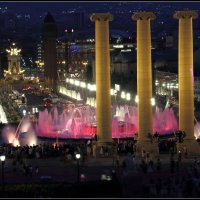 Барселонский фонтан :: Владимир Иванов