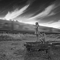 Салют проходящим поездам! :: Daniela